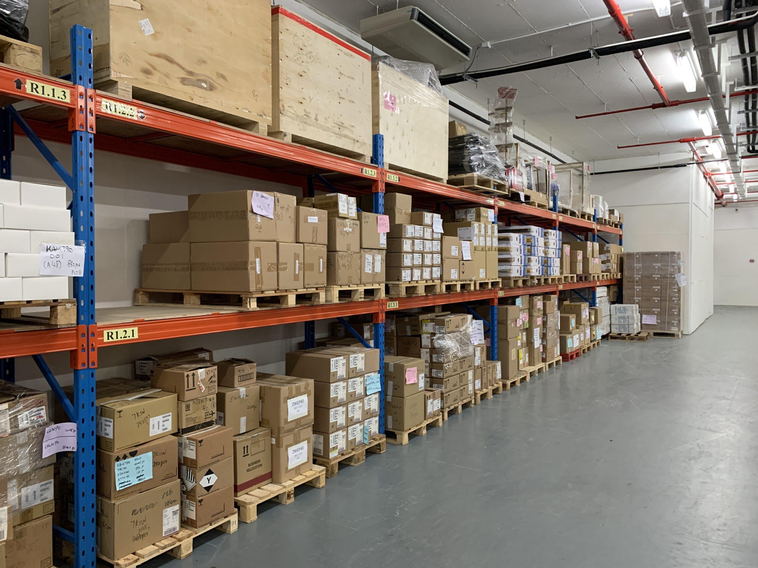 空調物流倉庫