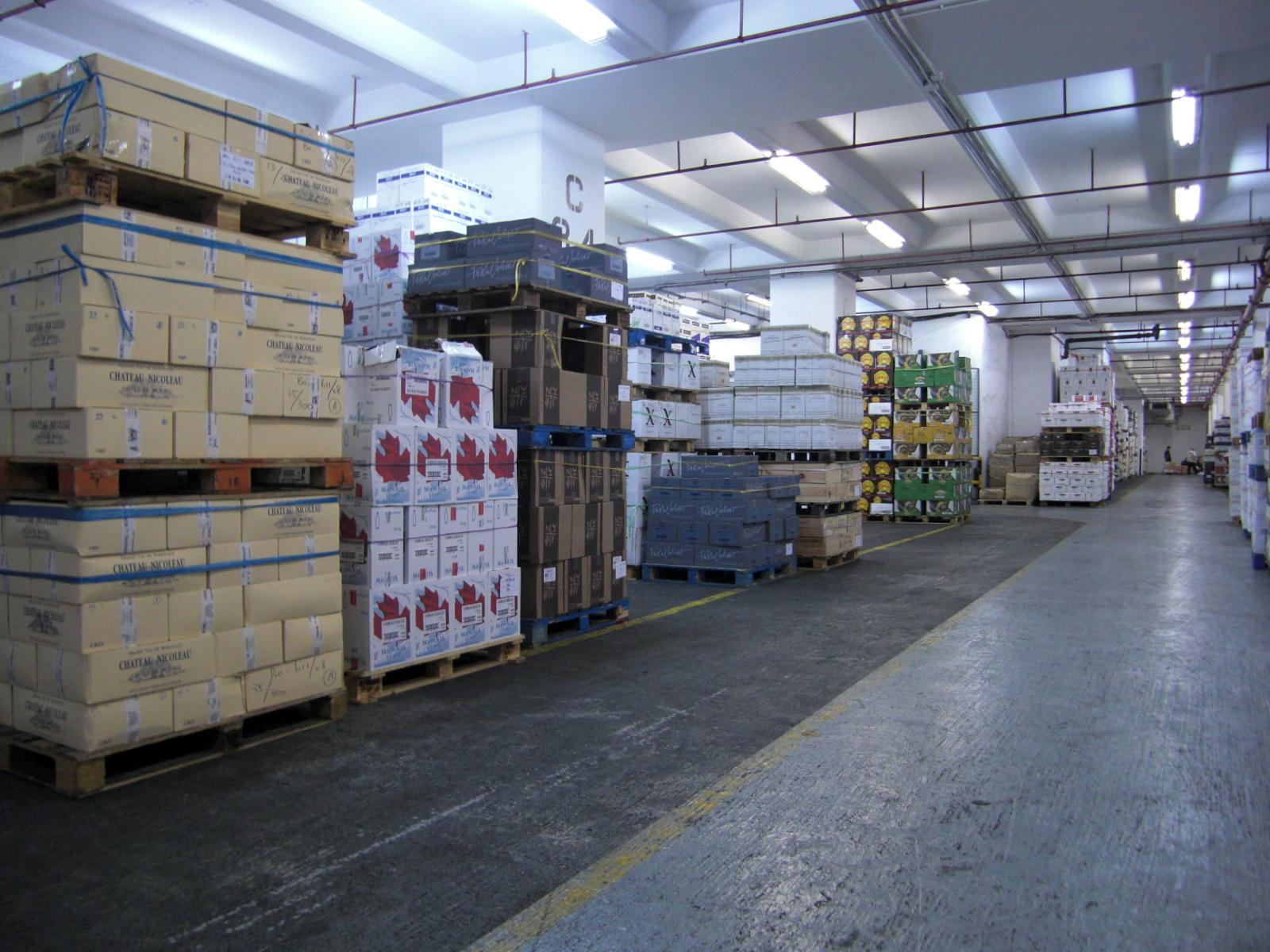 Bonded Warehouse for Tobacco & Hard Liquor